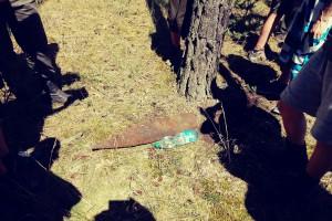 VLM Malacky - nevybuchnutá munícia (cvičná ???)